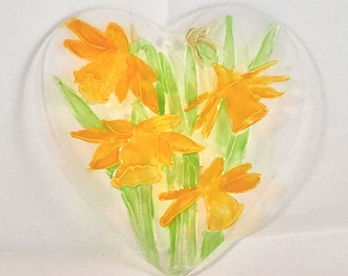 Daffodils suncatcher