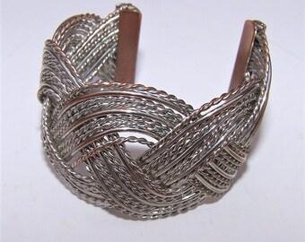 Vintage Braided Cuff Bracelet