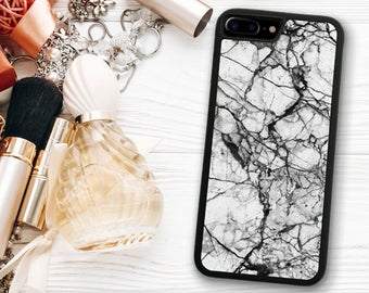 Black White Marble iPhone 7 Case,  iPhone 7 Marble Case, iPhone 7 Case Marble, iPhone 7 Plus Marble, Marble iPhone 7 Plus 1290