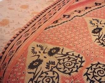 Vintage Kantha bedspread