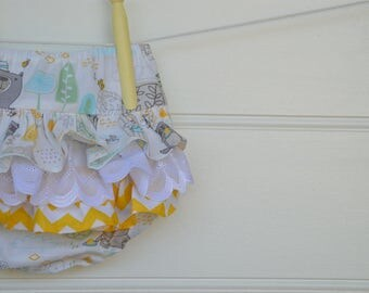 Ruffle bloomers for babies and toddlers - little girl nappy covers