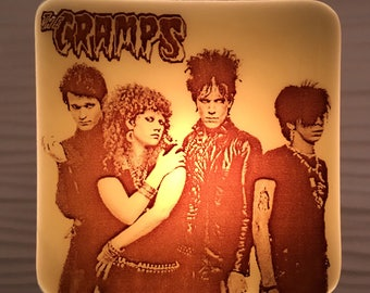The Cramps Night Light Fused Glass