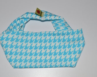 Houndstooth Blue Headband