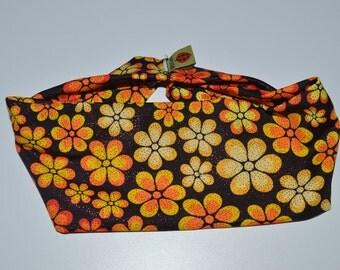 Flower Shower - Orange Headband