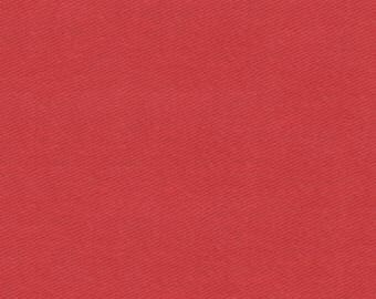 """Chili Red Twill Cloth 60"""" Wide By The Yard 7oz"""