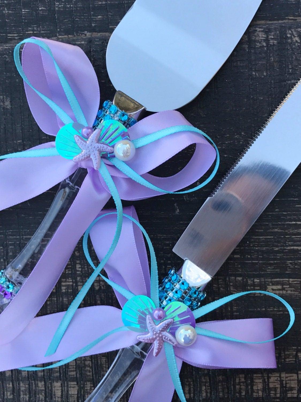 Description. Baby Shower Cake Knife Set