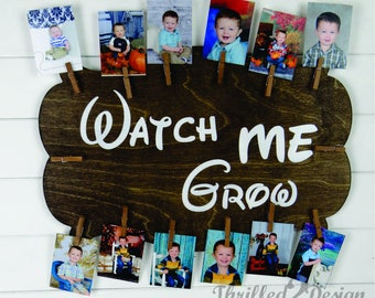 Watch Me Grow Picture Display - Children, Kids, Home Decor