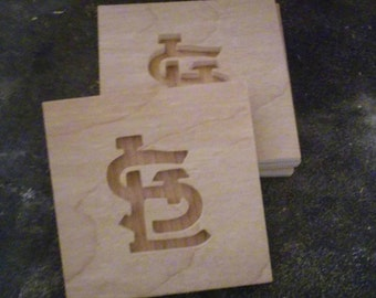 St Louis Cardinals Coasters (Set of 4)