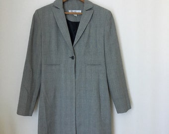 Grey Duster Blazer