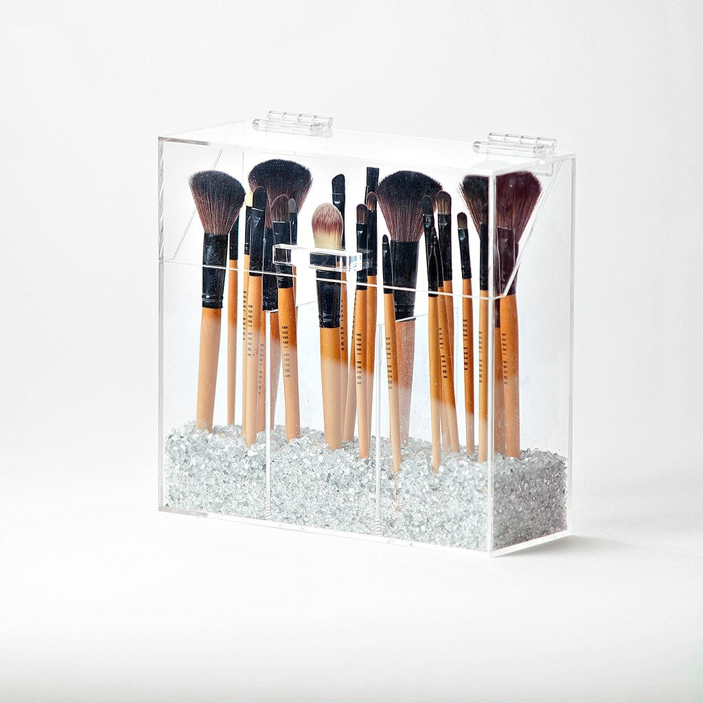 elizabeth makeup brush holder makeup brush organizer acrylic. Black Bedroom Furniture Sets. Home Design Ideas