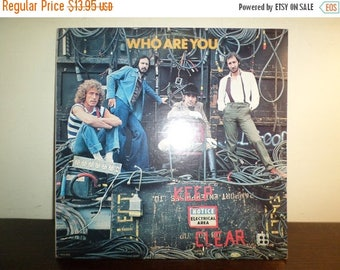 Save 30% Today Vintage 1978 LP Record The Who MCA Records 3050 Who Are You Near Mint Condition 8239