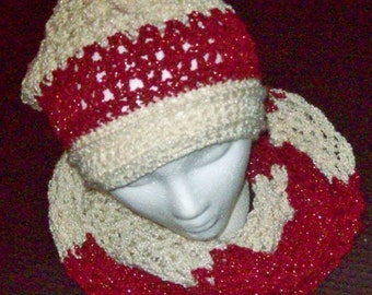 INFINITY SCARF and HAT Set!