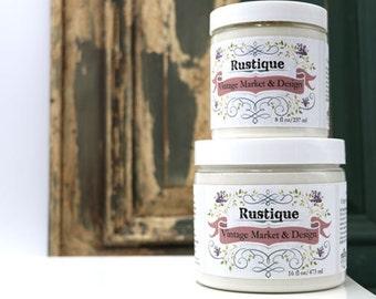 "Vintage Market & Design's Rustique- ""Chippy Paint Effect"" - All Natural- 16 Ounce Jar"