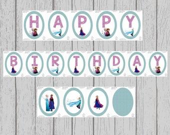 Happy Birthday Banner & Decorations