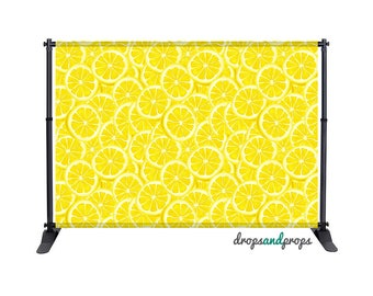 Lemon Slices - Photography Backdrop
