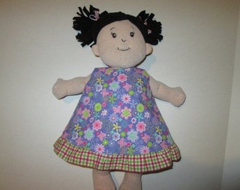 Fits Baby Stella and Rosy Cheeks Doll 2 in 1 Reversible Dress for 15 inch doll