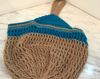 Cool Crochet Tote Bag