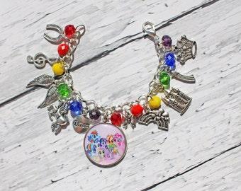 My Little Pony Inspired Charm Bracelet
