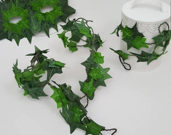 Ivy leaf jewelry etsy set of 4 ivy leaf accessories leaf jewelry barefoot sandals mask and upper arm mozeypictures Image collections