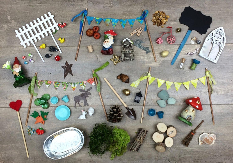 DIY Fairy Garden Accessories Grab Bag Kids craft Fairy