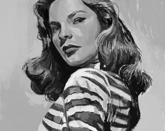 Black & White Custom Portrait