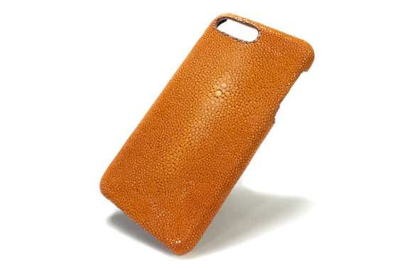 "NEW Apple iPhone Genuine Stingray Galuchat Leather Case for New iPhone X 8 7  4.7"" o New iPhone 7 Plus 5.5"" 6 4.7"" & Plus 5.5"""
