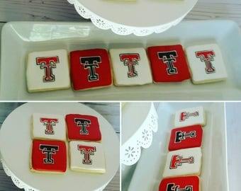 Texas Tech Cookies (Three Dozen)