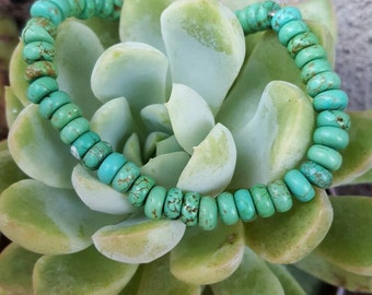 Real Turquoise Stretch Bracelet