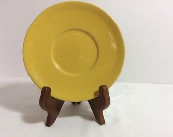 Frankoma Sunflower Saucer Mold #: 6E Vintage 1950s