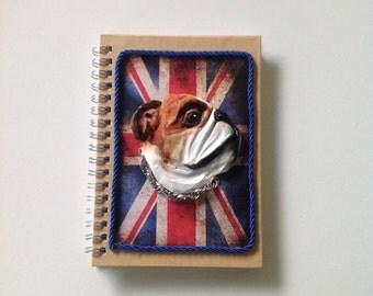 English Bulldog notebook agenda