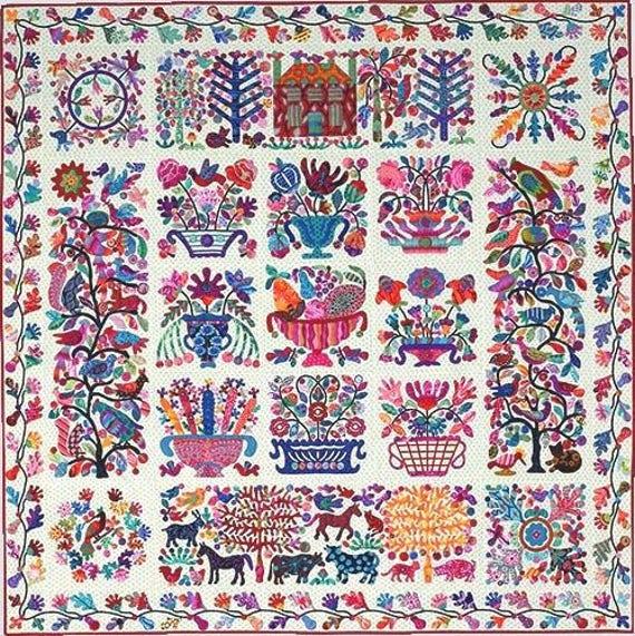 ROSEVILLE ALBUM Pattern by Kim McLean - Appliqué