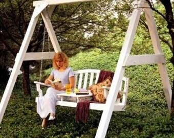 Garden Swing Woodworking Plans