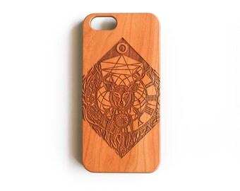 iPhone, iPhone 6, iPhone 6S, iPhone 6 Case, iPhone 6S Case, iPhone 6S Cases, iPhone 6 Plus, iPhone 6 Plus Case, Dreamcatcher, Cherry Wood