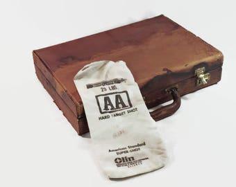 Winchester Shot Ammo Bag Vintage Canvas Sack
