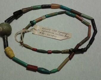 Egyptian Faience Mummy Bead necklas