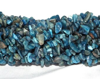 Apatite Chip Beads 5x8mm on String