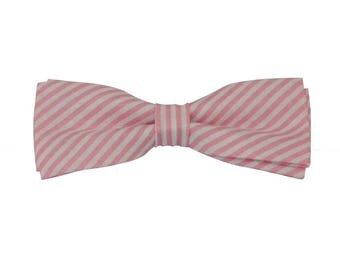 Pink stripes bow tie, bow ties boys, baby tie shops, designer bow tie, children's bow ties
