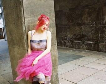 Lola Fuchsia Mini Tutu Skirt