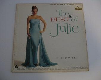 Julie London - The Best Of Julie - Circa 1962