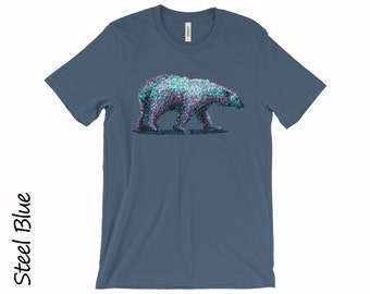 POLAR BEAR T-shirt Unisex Tshirts Clothing Tops And Tees Cotton T-shirt Graphic T-shirts Boyfriend Tshirt Funny T-shirts Mens Funny T-shirts