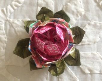 Origami Brooch.