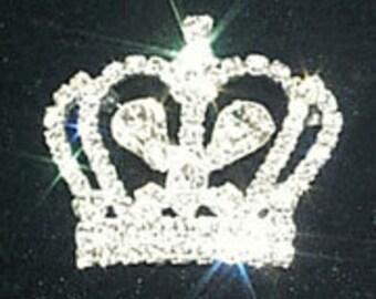 Style # 11896 Rhinestone Crown Pin