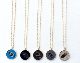 Birds of a Feather Necklace- Various Colors