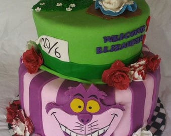 Alice in Wonderland Cake Kit