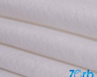 "Zorb Super Absorsent Fabric - Per Metre (60"" and 30"" Widths) - Cheapest with FREE UK Delivery"