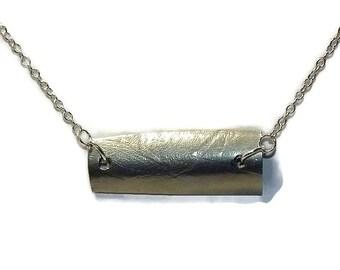 handmade pewter pendant