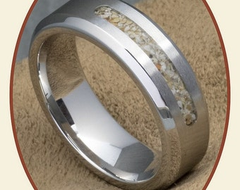 Mens Cremation Ring Etsy