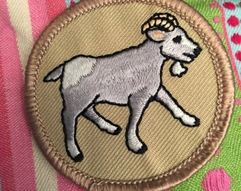 Goat Patch (1) - baby goat friends kjallraven Hershel goats goat love