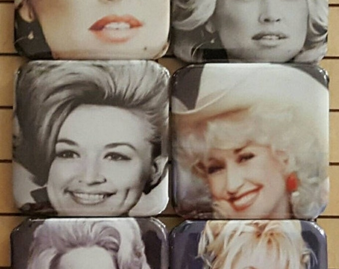 Fridge Magnets, Dolly Parton, Cute Magnets, Small Magnets, Dolly
