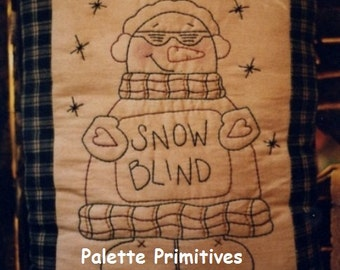 Snowblind Stitchery E-Pattern/Instant Download
